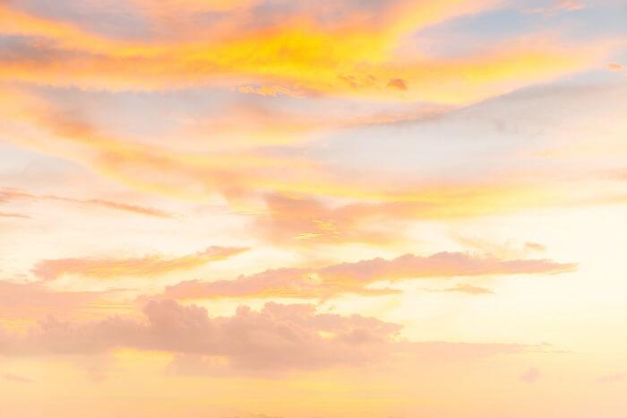 light-orange-sunrise